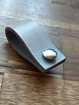 Materiál ručne robený - Kožené úchyty na mieru - 12232123_