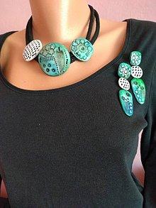 Sady šperkov - Tyrkysová súprava - 12233215_