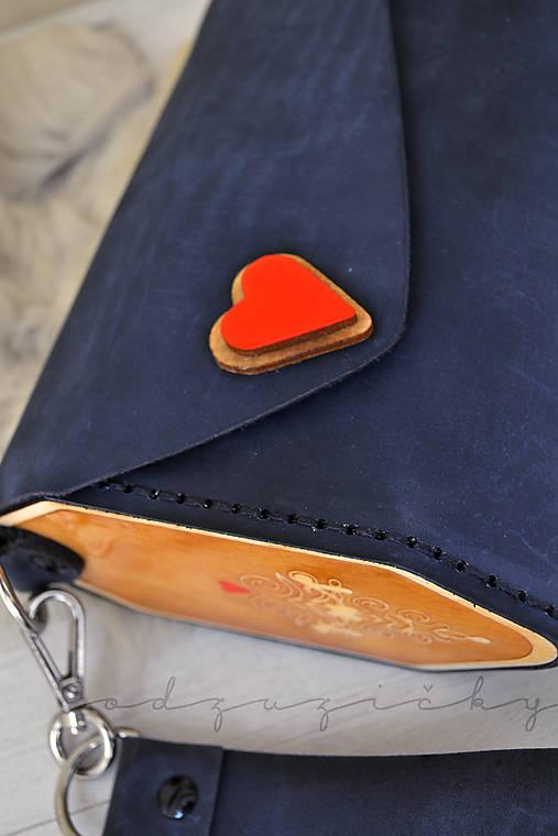 Listová kabelka Liptovské srdce Hany