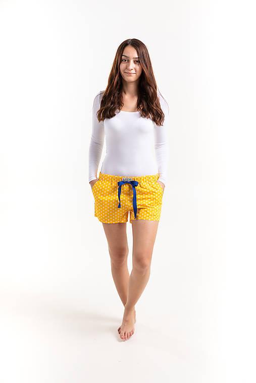 Laggar dámske pyžamové šortky