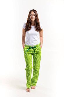Pyžamy a župany - Laggar dámske pyžamové nohavice  (Zlta hviezdicka L) - 12233939_