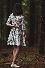 Šaty - Kvetované zavinovacie šaty  - 12236052_