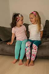 Detské oblečenie - Dievčenské legíny - 12233561_
