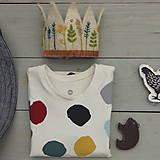 Detské oblečenie - tričko.puntíky - 12236201_