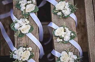 """Náramky - Kvetinový náramok pre družičky """"Eukalyptus"""" - 12239525_"""