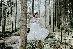 Šaty - biele madeirové šaty Sága krásy - 12238176_
