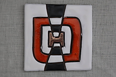 Dekorácie - Keramická obkladačka - 12237804_