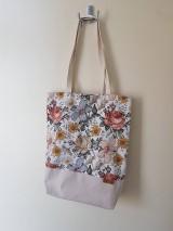 Nákupné tašky - Taška kreslené kvety - 12237799_