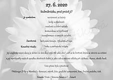 Papiernictvo - Svatební přání v rámu s předmluvou kvítku - 12236288_