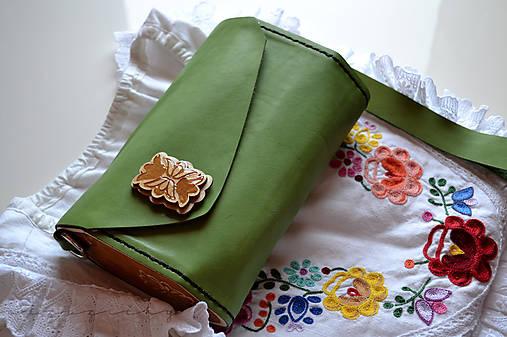 Listová kabelka Agátka s tulipánmi