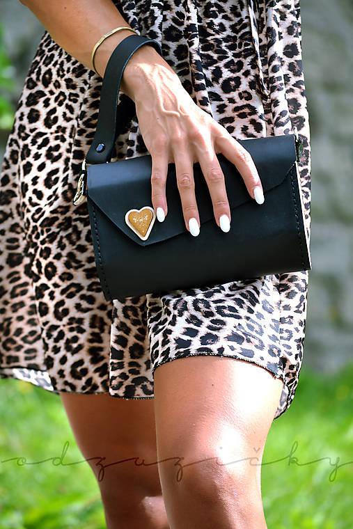 Listová kabelka Srdce Liptova