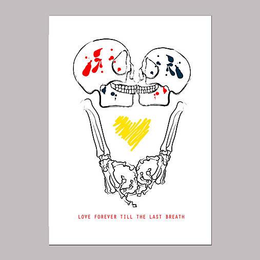 Love forever grafika