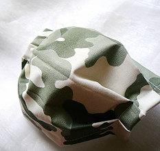 Rúška - Ochranné rúško na tvár - dvojvrstvové - skladom - 12236412_
