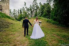 Šaty - Romantika Dominika, svadobné šaty - 12240306_