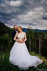 Šaty - Romantika Dominika, svadobné šaty - 12240308_