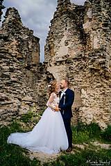 Šaty - Romantika Dominika, svadobné šaty - 12240309_