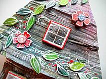 Dekorácie - Kvetinový domček - 12241499_