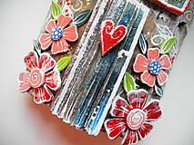 Dekorácie - Kvetinový domček - 12241500_