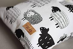 Detské tašky - Detský vak uťahovací - ovečky - 12241396_