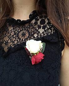 """Odznaky/Brošne - Brošňa """"Rose"""" - 12241727_"""