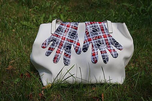 Úpletové rukavičky - Káro