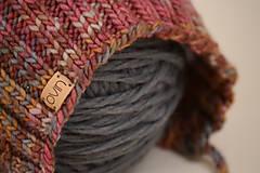 Detské čiapky - Detská pixie čiapočka MILLY, 100% merino - 12240185_