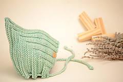 Detské čiapky - Detská pixie čiapočka ERIC, 100% merino - 12240250_