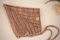 Detské súpravy - Baby set LEYA (čiapka, šál, rukavice), 100% merino - 12241231_