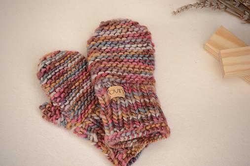 Detské rukavičky MILLY - ZĽAVNENÉ, 100% merino