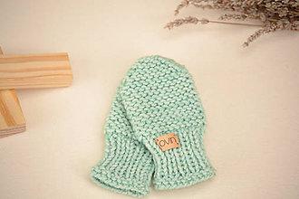 Detské doplnky - Detské rukavičky ERIC, 100% merino - 12241165_
