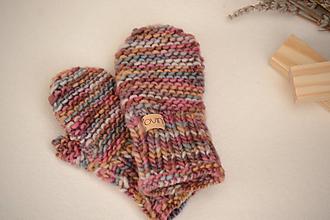 Detské doplnky - Detské rukavičky MILLY, 100% merino - 12241187_