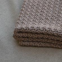 Textil - Háčkovaná deka 65x75 cm - 12240650_