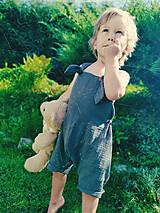 Detské oblečenie - Chlapčenské kraťasy na traky - 12239833_