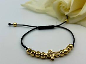 Náramky - Zlatý náramok Alahaka - 12242537_