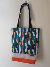 Nákupné tašky - Taška retro - 12243401_