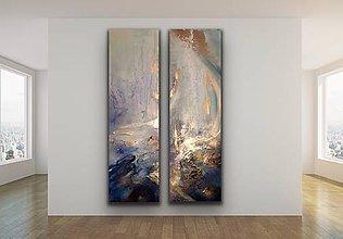 Obrazy - Golden wave - 12241910_