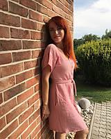 Šaty - Mušelínové šaty na gombíky - ANITA - 12243496_