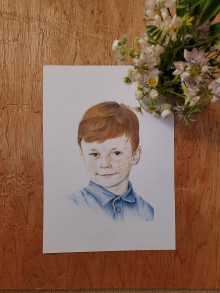 Kresby - Kresba-portrét na želanie - 12242345_