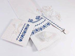 Textil - Darčekový set pre chlapčeka - folk vyšívaný - 12242629_