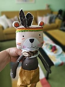 Bábiky - Náčelník Hnedý Medveď - 12244630_