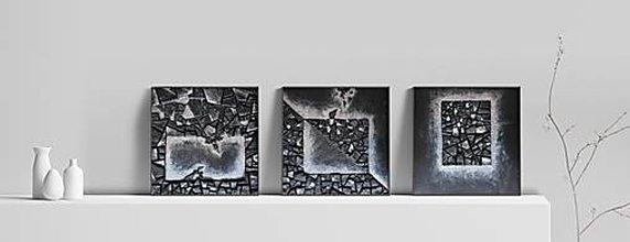 Obrazy - Transformácia (triptych) - 12245137_