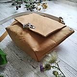 Kabelky - Kabelka SWEET BAG - bronzová hnedá - 12248229_