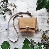 Kabelky - Kabelka SWEET BAG - bronzová hnedá - 12248231_
