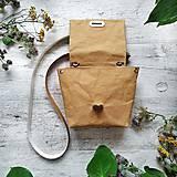 Kabelky - Kabelka SWEET BAG - bronzová hnedá - 12248238_