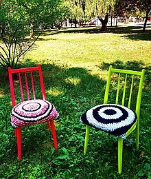 Nábytok - NEON retro stoličky upcycling - 12245878_