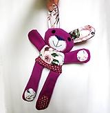 Hračky - Zajačik kvetinár - 12247770_