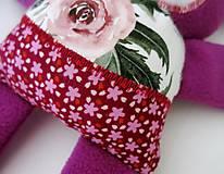 Hračky - Zajačik kvetinár - 12247774_