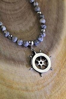 Náhrdelníky - pánsky náhrdelník jaspis - 12249145_