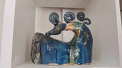 Socha - Keramika, Stáj - 12245985_