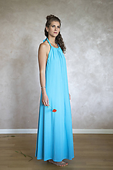 Šaty - Letné maxi šaty - 12247731_